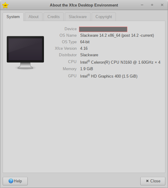 about xfce 4.16